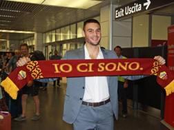 Daniel Fuzato, nuovo portiere della Roma. Ansa