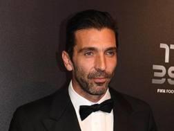 Gigi Buffon, nuovo portiere del Psg. Epa