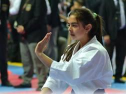 Sonia Inzoli, oro nella Youth League di Umago nel kata individuale classe cadetti