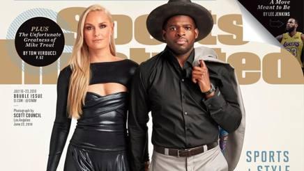 La copertina di Sport Illustrated con Lindsey e il suo PK Subban