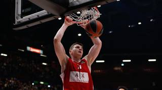 Arturas Gudaitis , Milano, in Eurolega CIAM/CAST