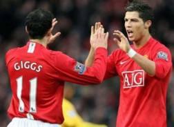 Giggs e Ronaldo