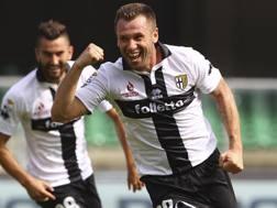 Antonio Cassano ha giocato nel Parma dal 2013 al 2015. Getty Images