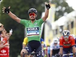 Peter Sagan, 28 anni, 10ª  vittoria al Tour, 111ª  in carriera (Bettini)