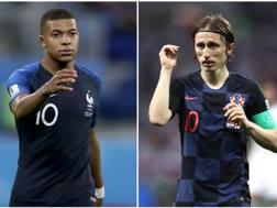 Mbappé e Modric, protagonisti della finale