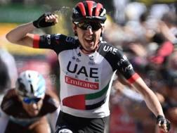 Daniel Martin , irlandese di 31 anni, sesto al Tour 2017