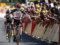 Daniel Martin, 31 anni, vince la 6a tappa del Tour (Afp)