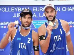 Daniele Lupo e Paolo Nicolai lo scorso anno campioni a Jurmala. Cev