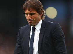 Antonio Conte, non è più il tecnico del Chelsea. Getty