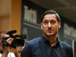 Francesco Totti, 41 anni, capitano al torneo
