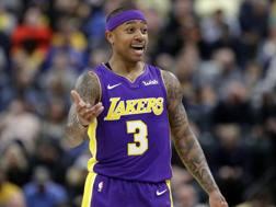 Isaiah Thomas, 29 anni, ha giocato l'ultima parte di 2017-18 con i Lakers. Ap