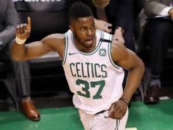 Semi Ojeleye, 23 anni, protagonista alla Summer League di Las Vegas con i Boston Celtics AFP