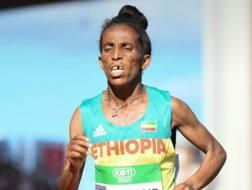 Girmawit Gebrzihair, 16 anni, bronzo nella 5000 femminile. Twitter