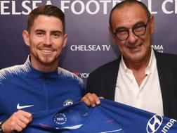 La foto ufficiale sul sito del Chelsea