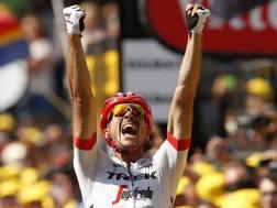 La gioia di John Degenkolb, 29 anni, a Roubaix. AP