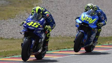 Valentino Rossi e Andrea Iannone. Ciam-Cast
