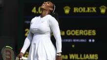 Serena Williams, 36 anni. Afp