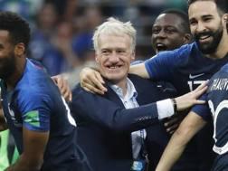 Didier Deschamps, allenatore della Francia. Epa