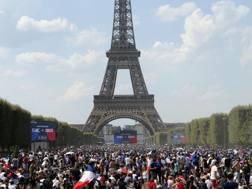 I tifosi francesi. EPA