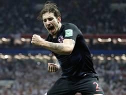 Šime Vrsaljko, 26 anni, difensore dell'Atletico Madrid e della nazionale croata. Ap