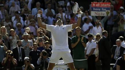 Novak Djokovic. Ap