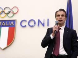 Carlo Mornati, segretario generale del Coni e a capo della Commissione per i Giochi 2026. Ansa