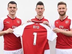 I giocatori dell'Arsenal