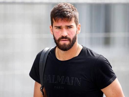 Alisson Becker. AFP