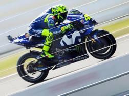 Nel 2019 la Yamaha di Valentino Rossi cambierà livrea. Epa