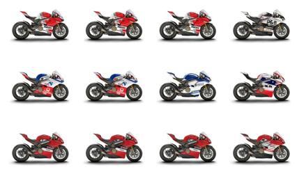 La Ducati per la Race of Champions