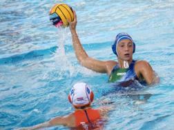 Silvia Avegno in azione contro l'Olanda. Inside