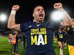 Emanuele Calaiò, attaccante del Parma. Getty