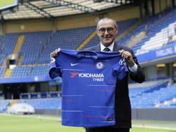 Maurizio Sarri, 59 anni, è il nuovo allenatore del Chelsea. Ap