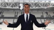 Cristiano Ronaldo all'Allianz Stadium. twitter.com/Cristiano