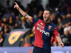 Andrea Bertolacci, lo scorso anno con la maglia del Genoa. Lapresse
