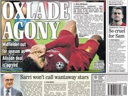 L'apertura del Daily Express