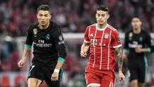 Ronaldo e Rodriguez. Getty Images