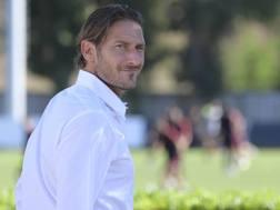 Francesco Totti, 41 anni. LaPresse