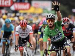 Peter Sagan, 28 anni, undicesima tappa vinta al Tour. Afp