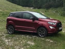 La Ford Ecosport testata a Cortina
