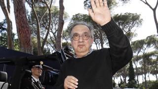 L'ultima apparizione pubblica di Sergio Marchionne lo scorso giugno. Ansa