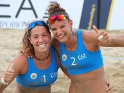 Claudia Puccinelli e Gaia Traballi