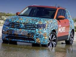 Le prime immagini della VW T-Cross
