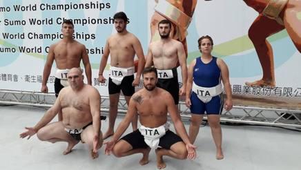Sumo, Mondiali a Taiwan, l'Italia sorride: Sganga quinto