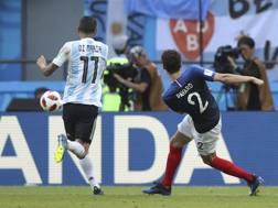 Il gol di Pavard contro l'Argentina. Ap