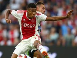 David Neres, 21 anni, attaccante brasiliano dell'Ajax. Getty Images