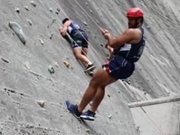 Hame Faiva in parete (Benetton Rugby)