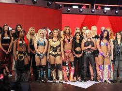 Le superstars femminili della WWE