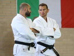 i coach azzurri Roberto Meloni e Francesco Bruyere
