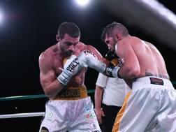 Una fase del match tra De Carolis (sinistra) e Cocco CIPPITELLI